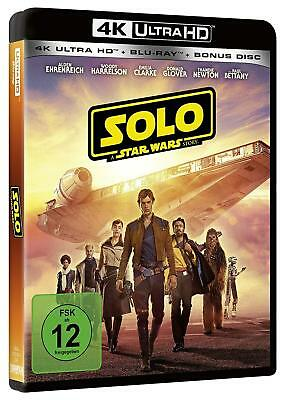 Solo - A Star Wars Story (4K Ultra HD + 2D-Blu-ray + Bonusdisk)