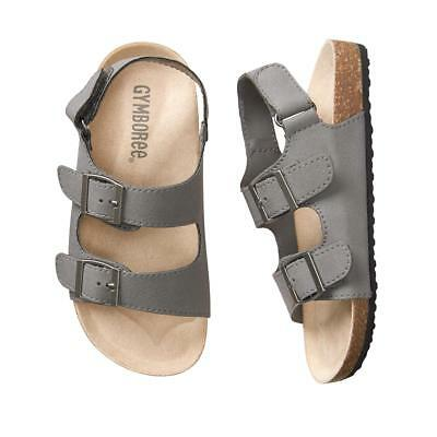 NWT Gymboree Boy Sandals Shoes Trail Toddler and kids sizes Gray