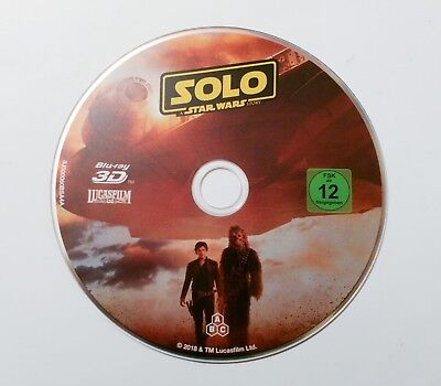 Solo: A Star Wars Story - 3D Blu-Ray (Nur Disc)