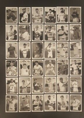 2018 Topps Archives SNAPSHOTS Black & White Parallel You Pick Complete Your Set