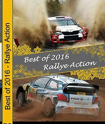 Blu Ray Best of Rally 2016 - Action pur!