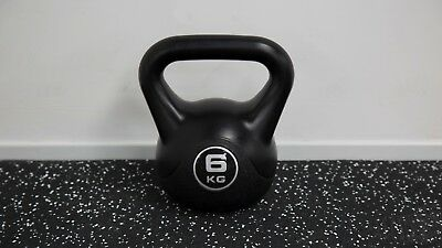 JLL Vinyl Black Kettlebells 2kg-16kg, Ex Display