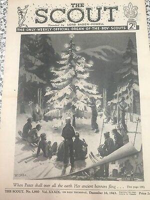Scouts Magazine Special Christmas war time Edition December, 15 1943 Good