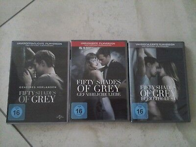 Fifty Shades of Grey 1-3, DVD