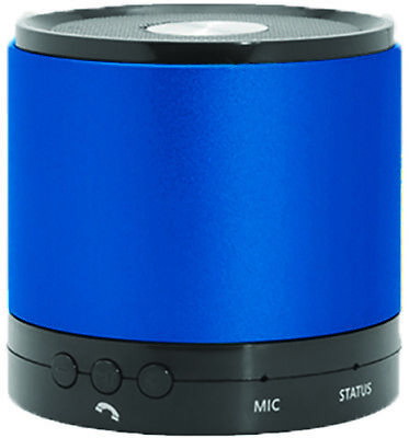 Hottips Portable Bluetooth Speaker Blue- Carton of 4 - CASE OF 4