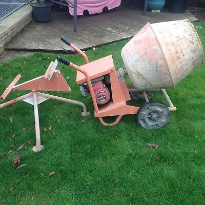 cement mixer used