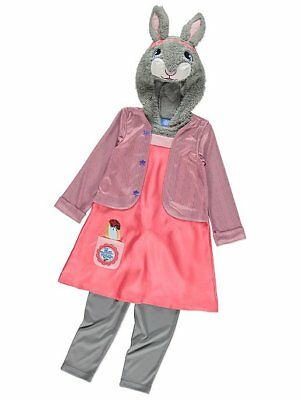 Lilybob Jemima Fancy Dress Costume Outfit World Book Day George Peter Rabbit