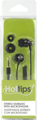 Hottips High Sound Quality Earbuds with Mic- Carton of 4 - CASE OF 4