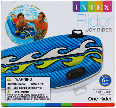 """44""""x24"""" Assorted Color Inflatable Joy Rider - CASE OF 12"""