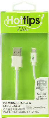 Hottips MFI Lightning Cable- Carton of 4 - CASE OF 4