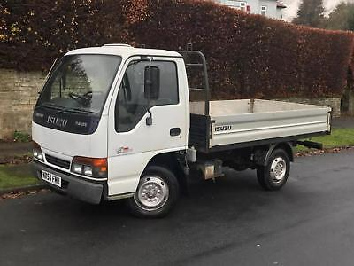 2004 Isuzu Nkr 77 Dropside Pick Up 3.0 Turbo Diesel White (Not Cabstar/toyota)