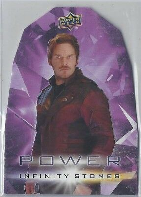 UD Marvel Avengers:Infinity War #PP-8 STAR LORD Power Stone UD ePack Achievement