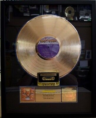 "Rare Jackson 5 Gold - ""Dancing Machine"" RIAA Record Plaque Award. (Price Drop)"