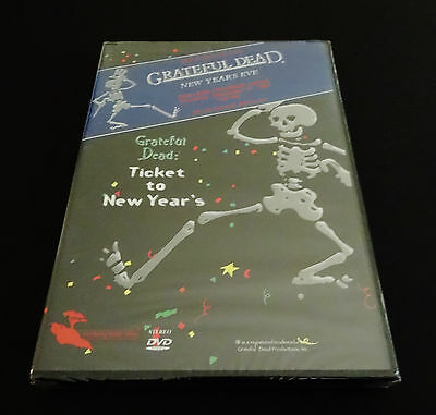 Grateful Dead Ticket to New Years DVD New Years Eve 1987 1988 Oakland CA New 1st