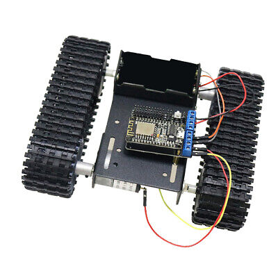 Wifi Nodemcu Control Robot Smart Tank Chassis Kit Car Light Shock Absorbed