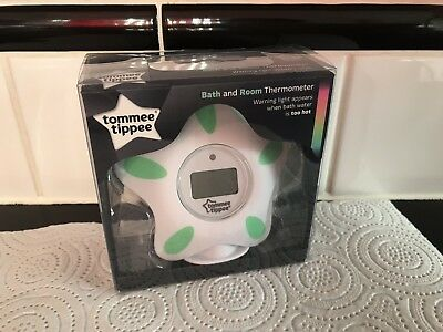*Tommee Tippee Digital Bath & Room Thermometer Floating LED Temperature Reader*