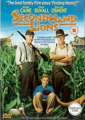Secondhand Lions - 2004 Haley Joel Osment, Michael Caine, Robert New UK R2 DVD