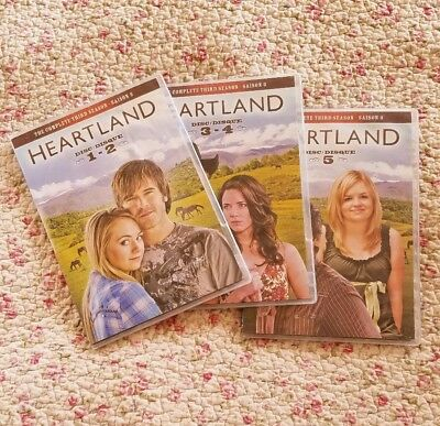 Heartland Complete Third Season 3 DVD 5-Disc Set