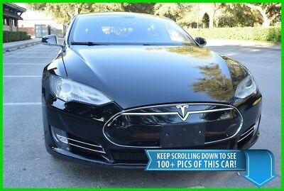 2013 Tesla Model S 85 - ACTIVE SUSPENSION - WARRANTY - BEST DEAL ON EBAY 3 S550 60 70 P85 PANAMERA P85+ P85D PORSCHE + P90 P100 MERCEDES BENZ S HYBRID