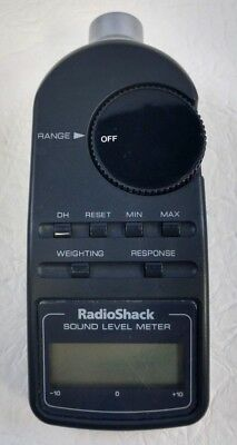Radio Shack Digital Sound Level Meter Tester 30-2055 Used In Good Condition