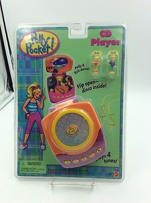 Vintage POLLY POCKET CD PLAYER new MISP 1999 Mattel