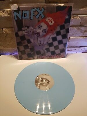 Nofx Pump Up The Valuum Baby Blue Vinyl Lp