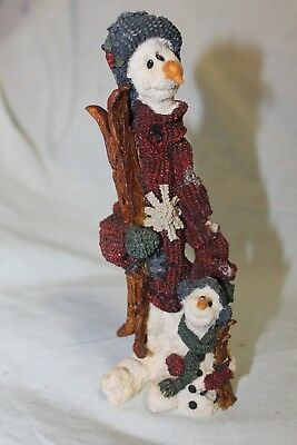 EUC Boyd Bears Folkstone Collection Jean Claude and Jacques, the Skiers