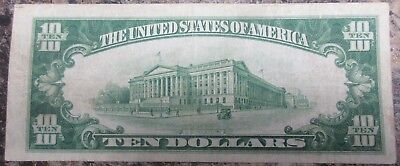 The United States Of America 1929 $10 Banknote