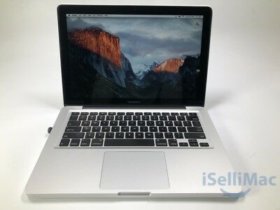 """Apple 2012 MacBook Pro 13"""" 2.5GHz I5 500GB 8GB MD101LL/A Audio Issue Sold As Is"""