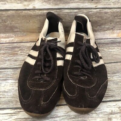 6eeff0fa3fe Vintage Collectable Sneakers 2 Stripe Brown Suede 7.5 Mens Unbranded Made  USA