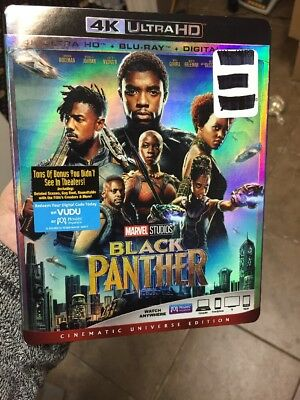 Black Panther (4K UHD+Blu-ray+HD Digital)Slipcover #2