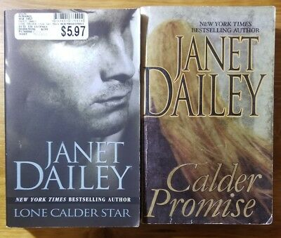 Lot Of 2 Janet Dailey 89 In The Calder Series Calder Promise