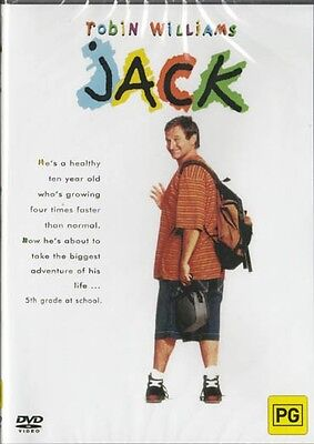 Jack - Robin Williams - New & Sealed Region 4 Aussie Release Dvd Free Local Post