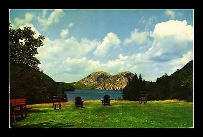 Dr Jim Stamps Us Jordan Pond Bubbles Acadia National Park Maine Postcard