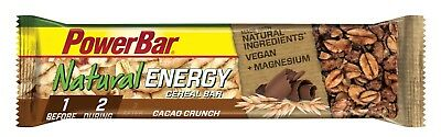PowerBar - Natural Energy - Cereal - Cacao Crunch - Box (24x40g) - SALE