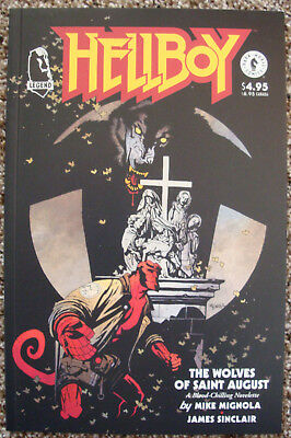Hellboy, The Wolves of Saint August/Trade Paper Back/Legend/VG Condition