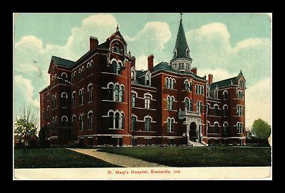 Dr Jim Stamps Us St Mary Hospital Evansville Indiana View Postcard