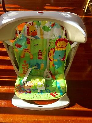 Fisher  Price Swing Rocker Toys Newborn Baby Activity