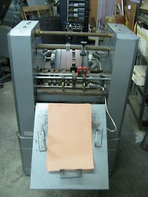 Rollem, perf, score, creasing and numbering machine