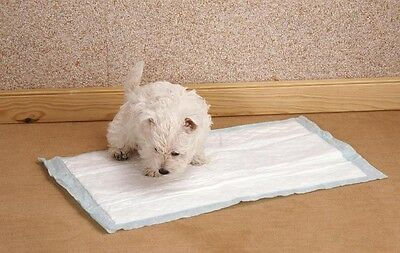 10x Puppy Large Toilet House Training Pad Absorbent Trainer Pads Wee Poo 60x60cm
