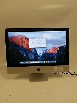 "Apple iMac MD093LL/A 21.5"" 2.7GHz Core i5-Late 2012 16GB RAM 1TB with OS. MG"