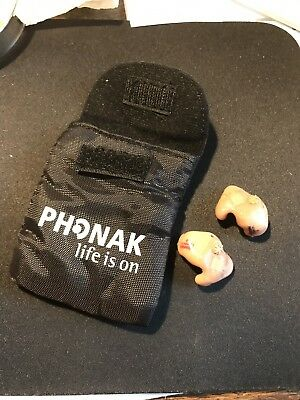 Phonak Hearing Aids Pair Q90 Tested/Working! Numbered! Updated Listing!