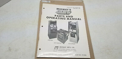 Gorf Midway Manual #1025