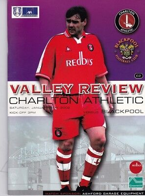 Charlton Athletic v Blackpool (FA Cup) 05.01.2002