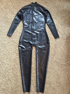 Latex Rubber Catsuit Outfit