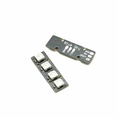 LED Strip with 4 WS2812B RG85050 Colorful LED Lamp for Naze32 CC3D Flight JH