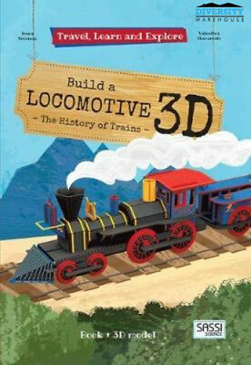 Sassi: Travel Learn and Explore 3D Puzzle - Locomotive
