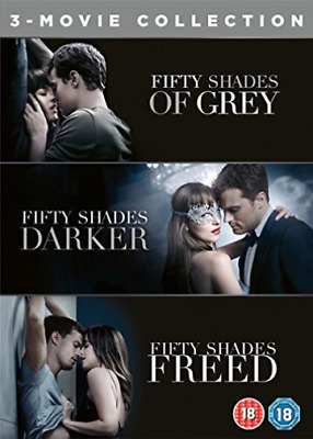 Fifty Shades 3 Movie Collection DVD NEW