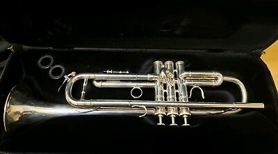 Kanstul 1001 Chicago Series Bb Trumpet MLP Excellent condition! Silver plated