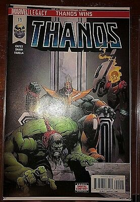 THANOS #15A ( FRANK CASTLE as COSMIC GHOST RIDER REVEALED! ) 1ST PRINT MT/NM